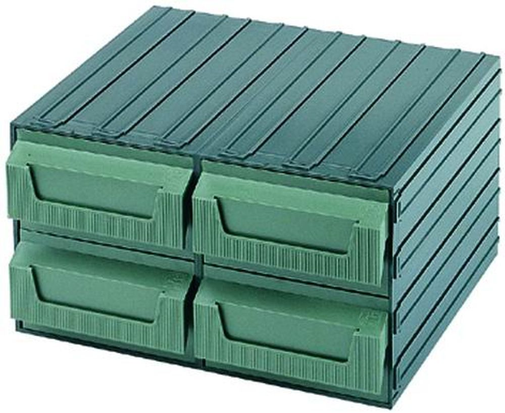 Cassettiere Terry Componibili - Verde  7 Z Cod.4039037 - Terry Plastic