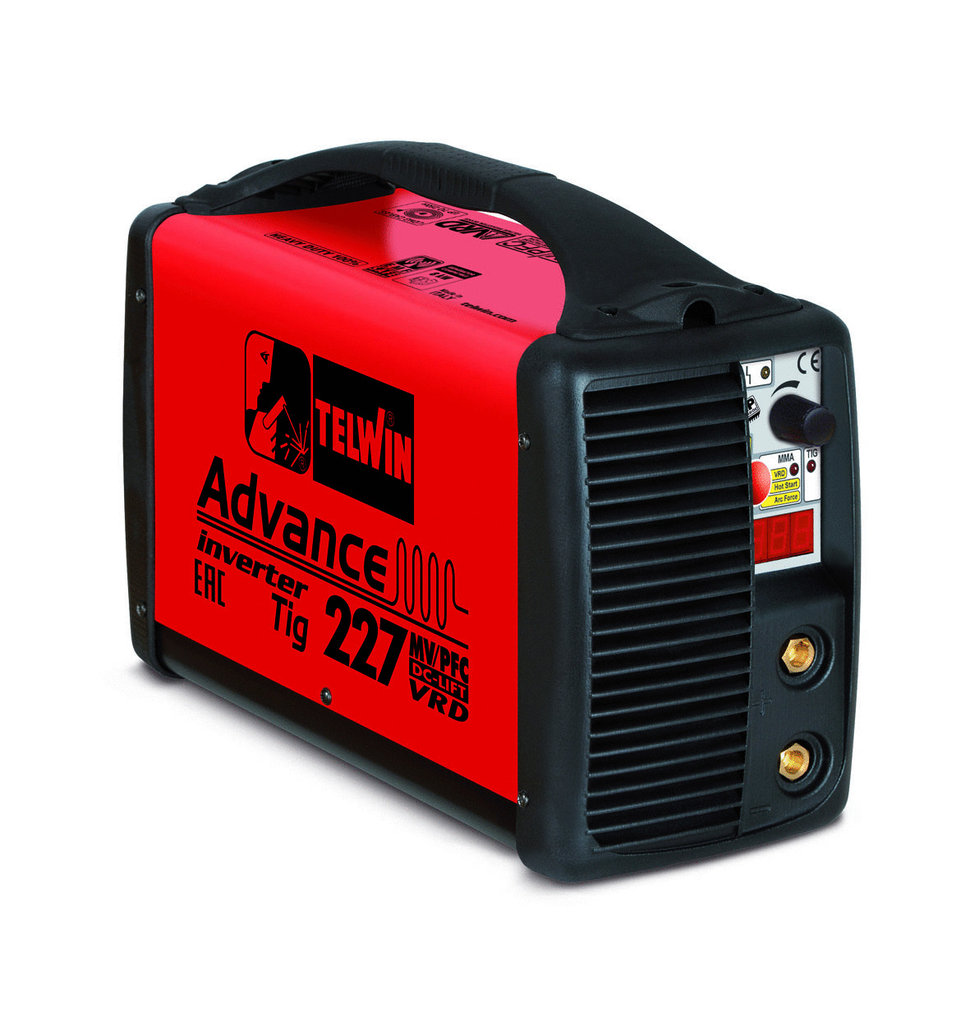 Saldatrice Inverter Advance 227 Mv/Pfc Tig Dc-Lift Vrd       Cod.816010 - Telwin