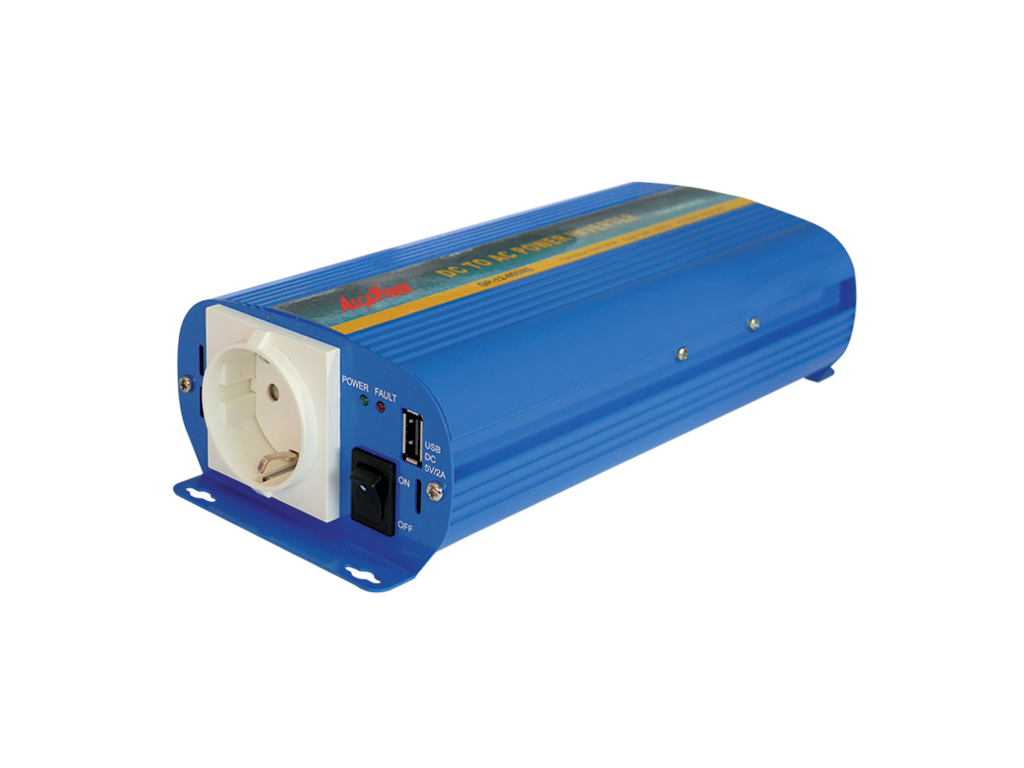 Inverter Sinusoidale Pura 600W Input 10-15Vcc Output 220Vac Ap12-600Ns_Cod. 912311_AlcaPower