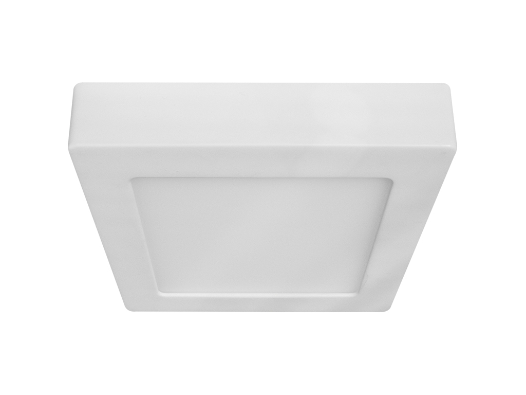 Plafoniere Quadrata : Plafoniera led bianca quadrata w bianco naturale mod