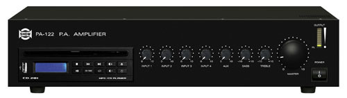 AMPLIFICATORE PA-122 120W LETT CD/USB                  Cod.550112038 - Mkc