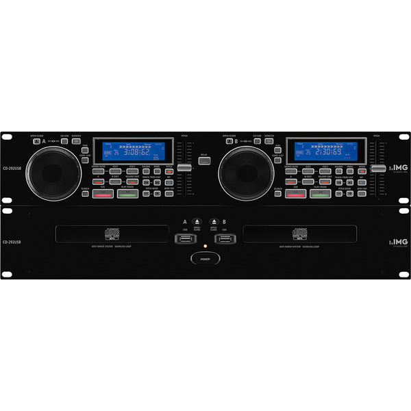 Dual Cd Player_Cod. CD-292USB_Monacor