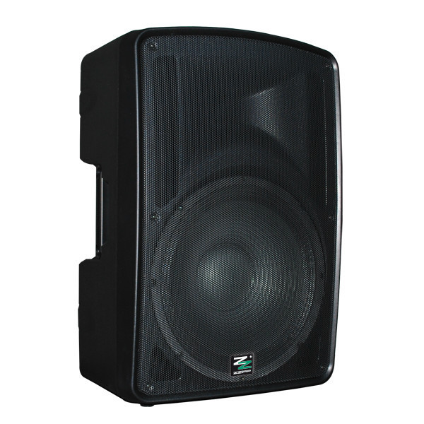 "CASSA ACUSTICA AMPLIFICATA 15"" BLUETOOTH E MP3 INTEGRATO Cod.ZZPK15 - Monacor"