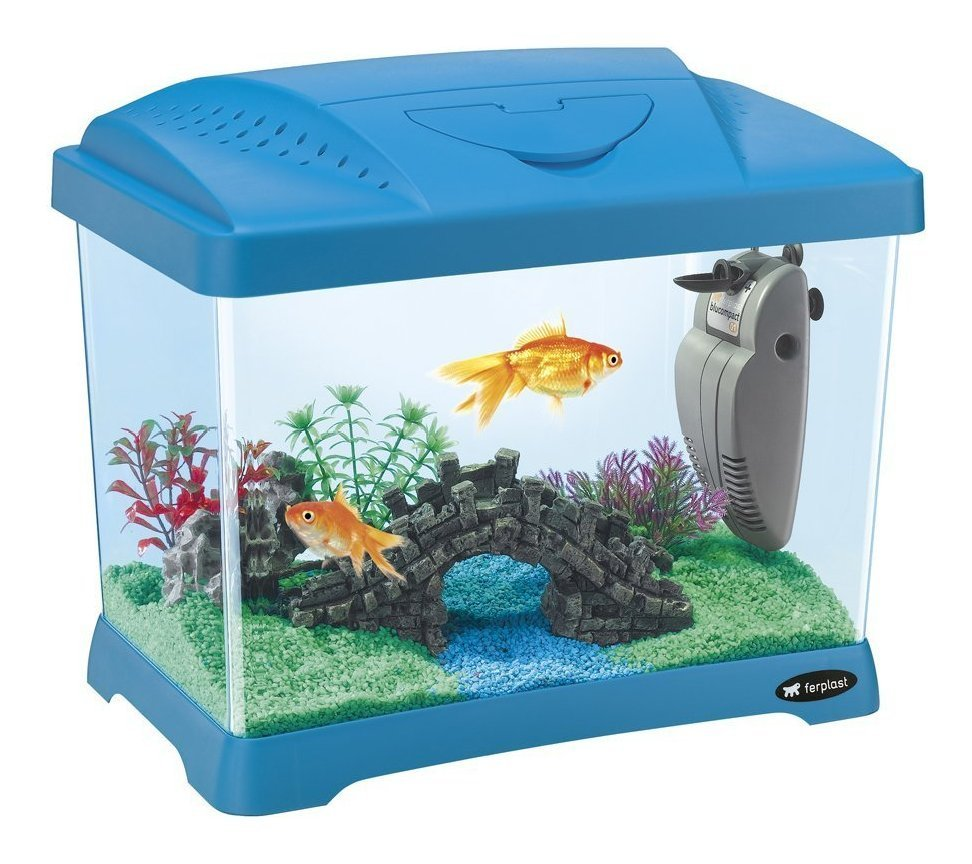 Acquario In Plastica  Mm 21 Lt Capri Junior 65010025_Cod. 9027686_FerPlast